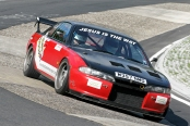 Nick in his track prepped Nissan 200SX